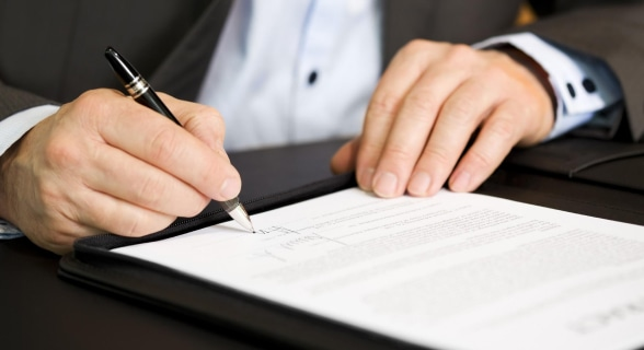 Заключение договора на покупку оборудования